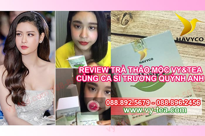 Review-tra-thao-moc-giam-can-vy-tea-cung-dien-vien-ca-si-truong-quynh-anh
