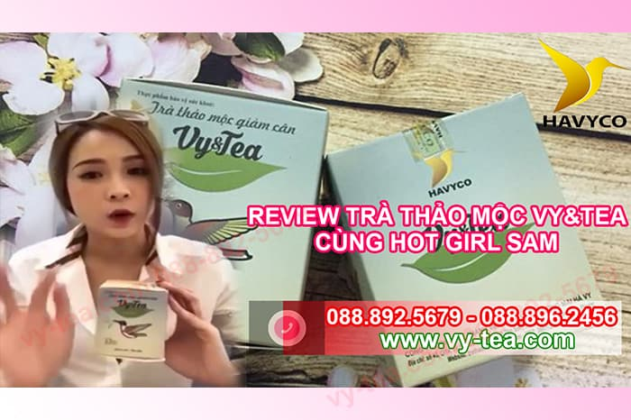 Review-tra-thao-moc-giam-can-vy-tea-cung-dien-vien-hotgirl-Sam